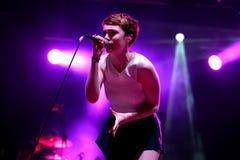 Chloe Howl (British singer) performance at FIB Festival Royalty Free Stock Photos