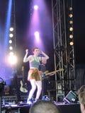 Chloe Howl an der Insel des Wight-Festivals Lizenzfreies Stockbild