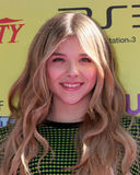 Chloe Moretz. LOS ANGELES - OCT 22: Chloe Moretz arriving at the 2011 Variety Power of Youth Evemt at the Paramount Studios on October 22, 2011 in Los Angeles royalty free stock image