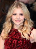 Chloe Moretz. Arriving for the European Premiere of 'Dark Shadows' at Empire Leicester Square, London. 09/05/2012 Picture by: Alexandra Glen / Featureflash Stock Image