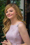 Chloe Moretz at the Hollywood Walk of Fame Ceremony Royalty Free Stock Photo