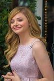 Chloe Moretz à la promenade de Hollywood de la cérémonie de renommée Photo libre de droits