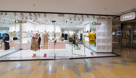 Chloe store in the Pacific Place mall, Hong Kong Royalty Free Stock Images