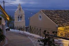 Chlomos, Corfu Royalty Free Stock Photo