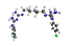 Chlorhexidine, ein Desinfektionsmittel und Antiseptikum, das für SK benutzt wird Lizenzfreie Stockfotos