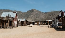 Chlorure, Arizona photographie stock libre de droits
