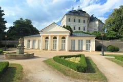 Chlumecnad Cidlinou chateau Stock Afbeeldingen