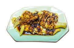 Chmielny kurczak, Chiński jedzenie zdjęcie royalty free