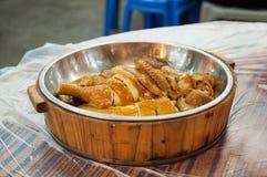 Chmielny kurczak w soja kumberlandzie, Hong Kong zdjęcia stock