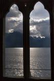 chmur błyskać Obrazy Royalty Free