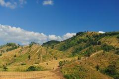 chmur fantastyczny pola krajobraz Fotografia Stock