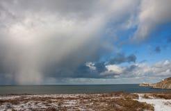 chmur gradu burza Zdjęcie Royalty Free
