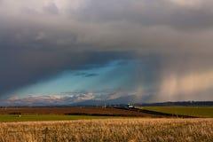 chmur gradu burza Fotografia Stock