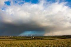 chmur gradu burza Zdjęcia Stock