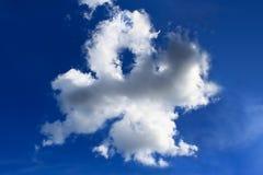 chmur koniczyny cztery liść Fotografia Royalty Free