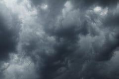 chmur markotna nieba burza Zdjęcie Royalty Free