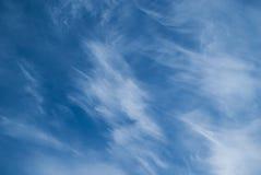 Chmur pierzastych chmury Zdjęcie Stock