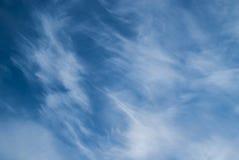 Chmur pierzastych chmury Zdjęcia Stock