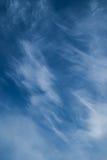 Chmur pierzastych chmury Fotografia Stock
