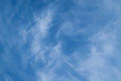 Chmur pierzastych chmury Zdjęcie Royalty Free