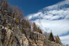 chmur skały obraz royalty free