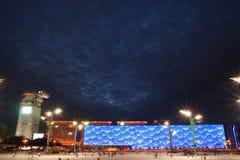 chmur sześcianu zmrok pod wodą Obrazy Stock