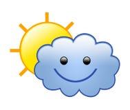 chmura 01 słońce Obrazy Stock