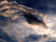 chmura 02 niebo Obraz Royalty Free