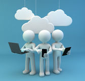 Chmura Obrazy Stock