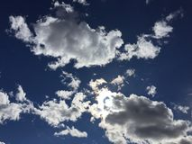 001 chmura Obraz Stock