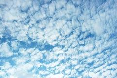 chmura błękitu nieba Fotografia Stock
