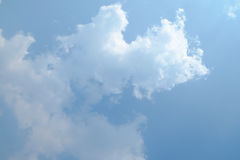 chmura błękitu nieba fotografia royalty free