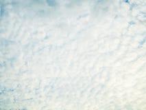 chmura błękitu nieba Zdjęcie Stock