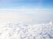 chmura błękitu nieba Obraz Royalty Free