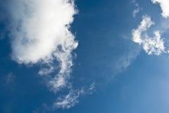 chmura błękitu nieba Obrazy Stock
