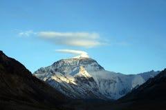 chmura Everest mt plume śnieg Obraz Royalty Free