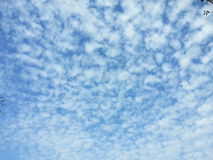 Chmura i niebo Fotografia Stock