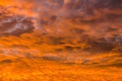 Chmura i niebo Zdjęcia Royalty Free
