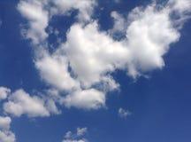 Chmura i niebo Obraz Royalty Free