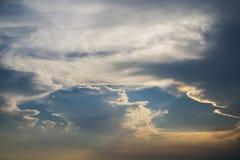 chmura kolorowe Obraz Royalty Free