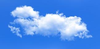 Chmura na niebieskiego nieba tle Obrazy Royalty Free