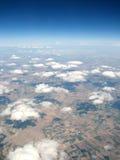 chmura nad horyzontem zdjęcie royalty free