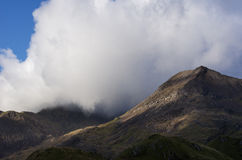 Chmura nad Snowdon Zdjęcia Stock