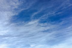 Chmura, nieba błękita tło niebo, chmury niebieski fotografia royalty free