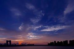 chmura niebo fotografia stock