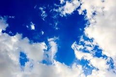 chmura niebo Zdjęcia Royalty Free