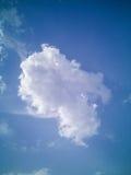 chmura pojedyncza Obrazy Stock