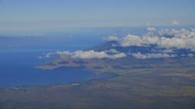 Chmura przepływ nad Maui czasu upływem zbiory