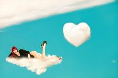 chmura relaksuje Obraz Stock
