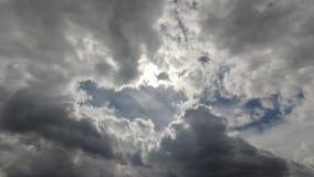 Chmura ruch przez niebo zbiory